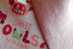 Hoody rosa Detail